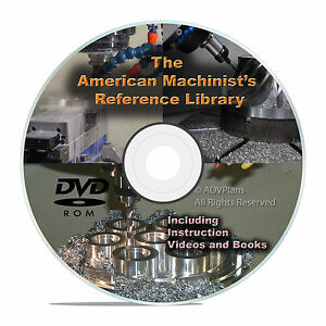 LIBRERIA-di-riferimento-American-Machinist-macchine-MANUALE-manuali-CD-Shop-Tool-V24