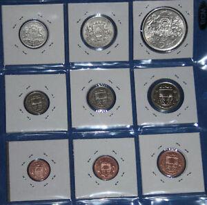 Lettland Latvia Münzensatz 1922 1939 125 Lats Silver 12510