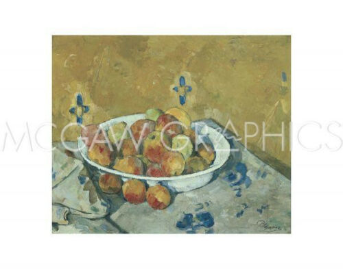 THE PLATE OF APPLES 1897 C CEZANNE PAUL