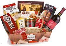 Strenna di Natale IL GASTRONOMICO Cesto Natalizio con 11 Specialita' Gourmet