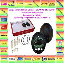 Universal-Lichtschranken für Smart Home, Alarmanlagen,Torautomation,12-24V NO/NC