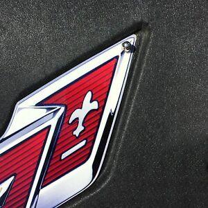 C7-Corvette-Under-Hood-Liner-Emblem-Fits-14-through-19-Corvettes