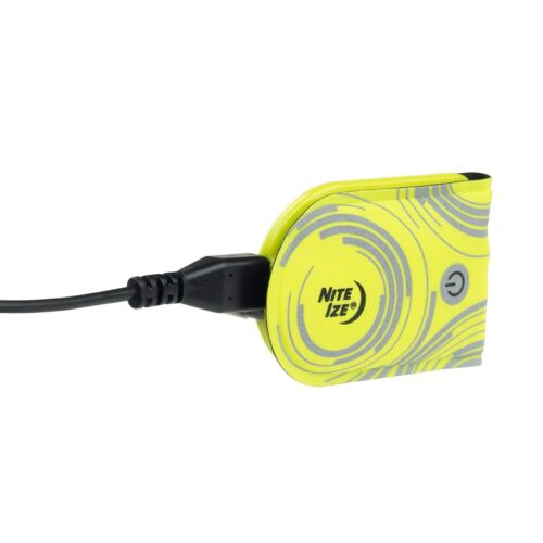 Nite Ize TagLit Yellow Rechargeable Secure//Water-Resistant Magnetic LED Marker