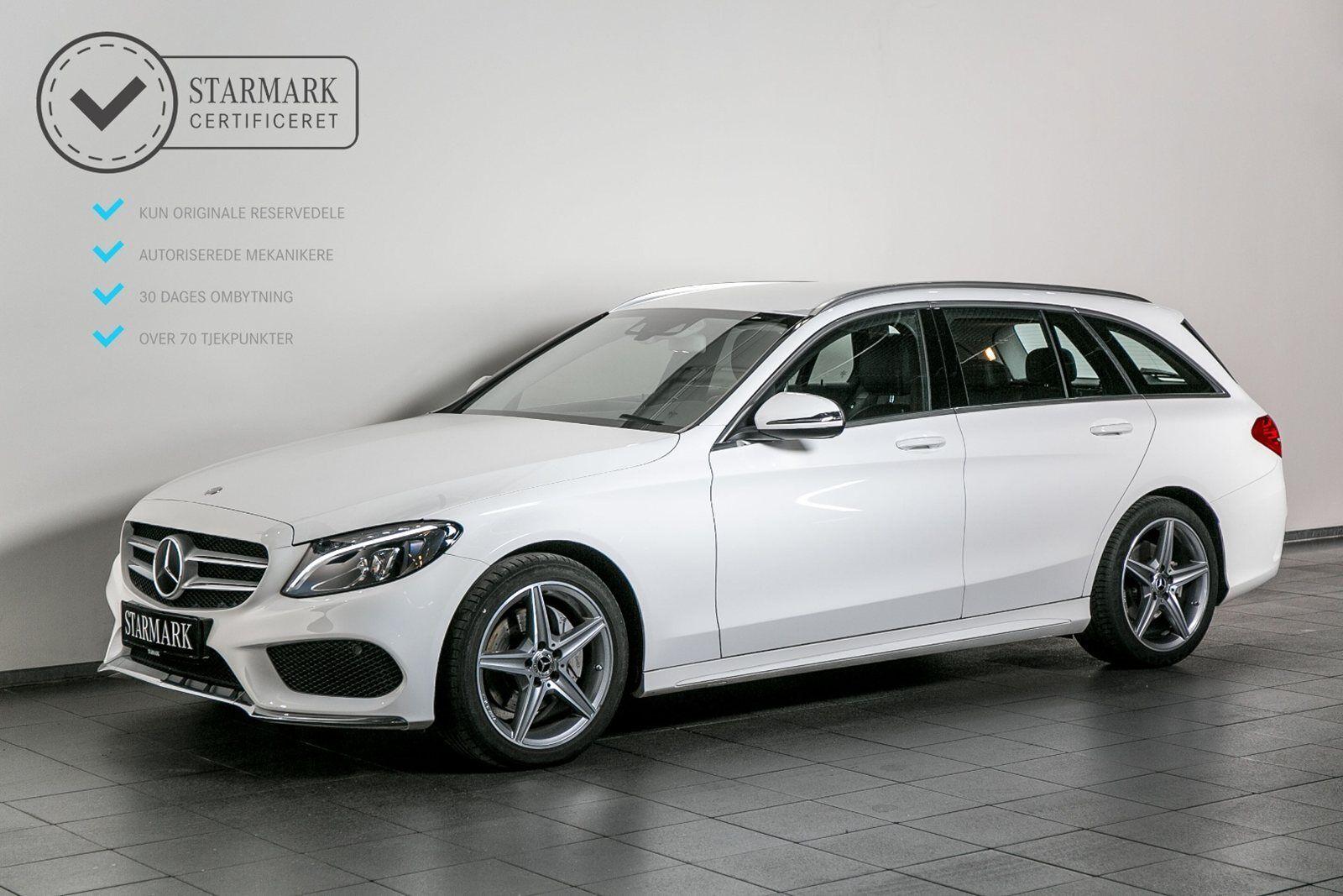 Mercedes C200 2,0 AMG Line stc. aut. 5d - 444.900 kr.