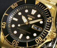 SEIKO 5 SPORTS SNZF22J1 (SNZF22JC) Automatic Gold Men's Watch from Japan