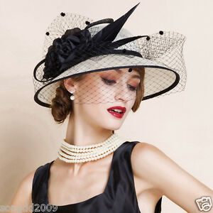 Image Is Loading New Elegant Las Hat Wedding Races Ascot Occasions