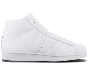 wholesale dealer 77531 f4555 Aq5217 Hombre Model Blanco Mid Adidas Zapatos De Zapatillas Superstar Pro  Cuero rBexdCo