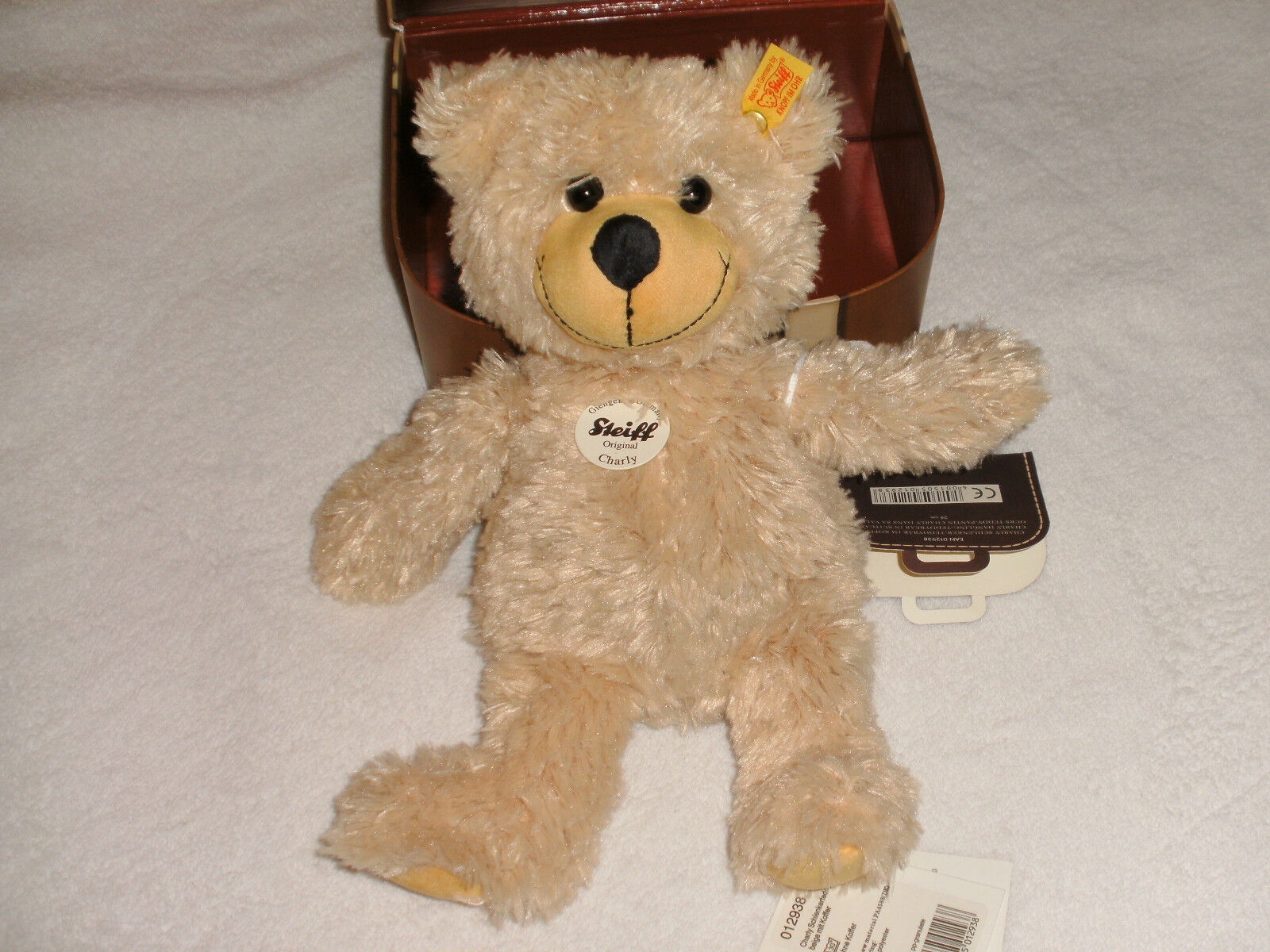 Original Steiff Charly Schlenkerteddy 28 im Koffer Top Zustand Zustand Zustand b986ac