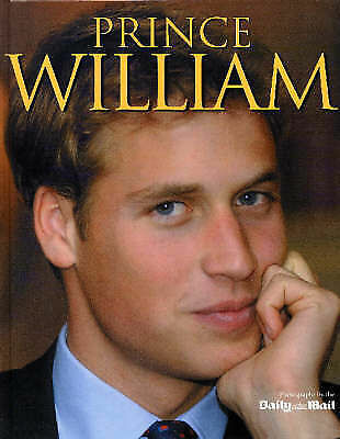 """""""AS NEW"""" Daily Mail, Prince William (William/Harry), Book"""