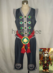 Red-Pandaren-WOW-Monk-Cosplay-Costume-Female-Version
