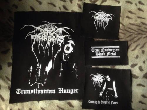 metallo in 4xl Darkthrone S taglio denim Transilvanian battaglia Hunger Giacca da con nero q1nUaf
