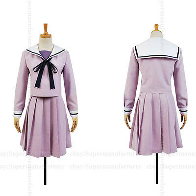 Noragami Hiyori Iki Uniform Cosplay Clothing Costume