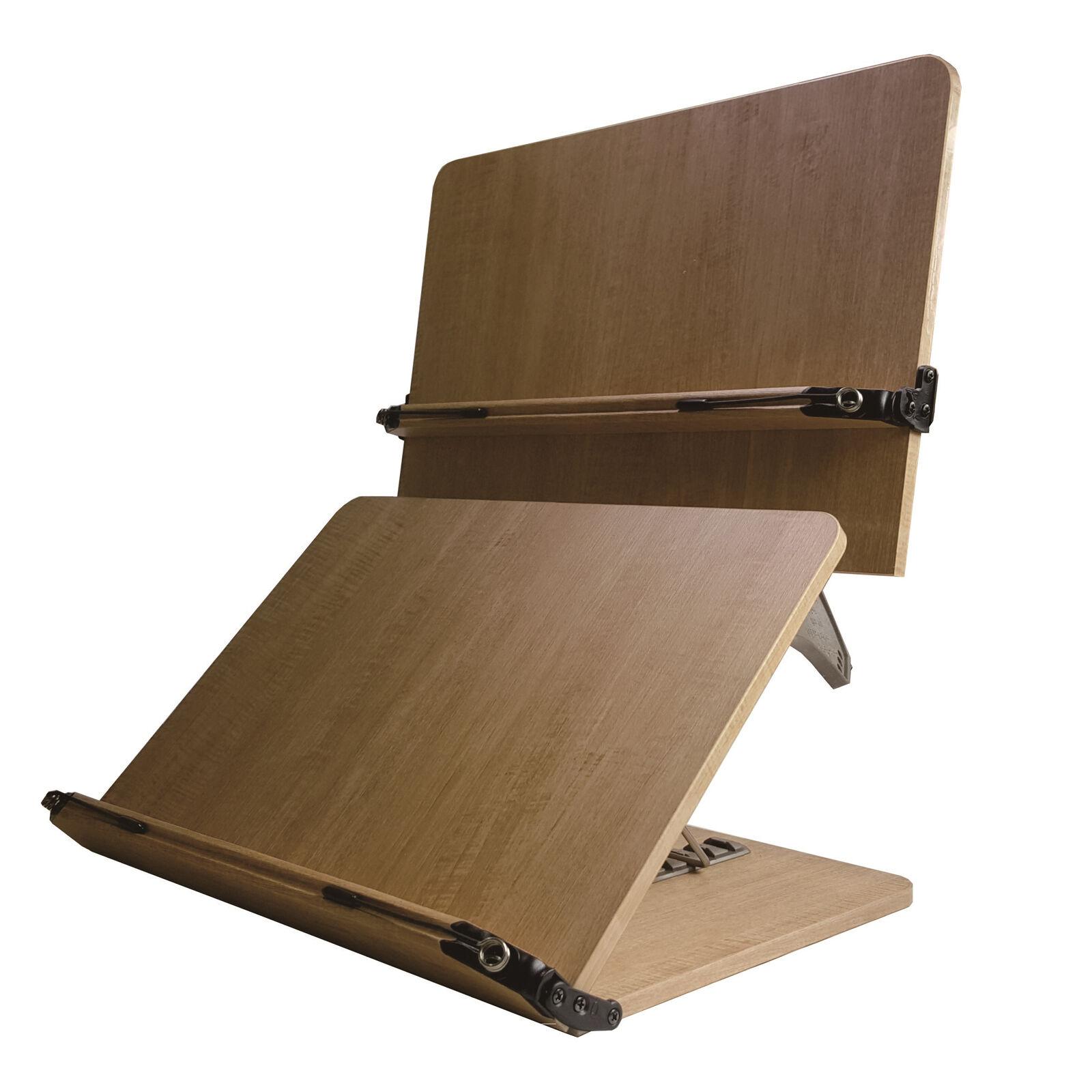 202d Nice Book Stand Portable Wooden Reading Holder Desk Bookstands
