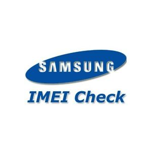 Details about Samsung IMEI Check Country Carrier Model Warranty Blacklist  Status