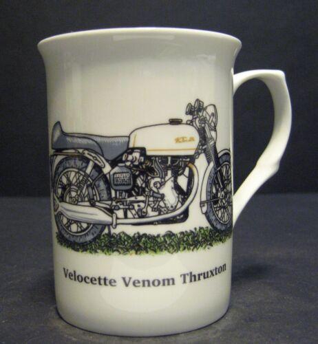 1 Velocette Venom Thruxton Motorbike Fine Bone China Mug Cup Beaker