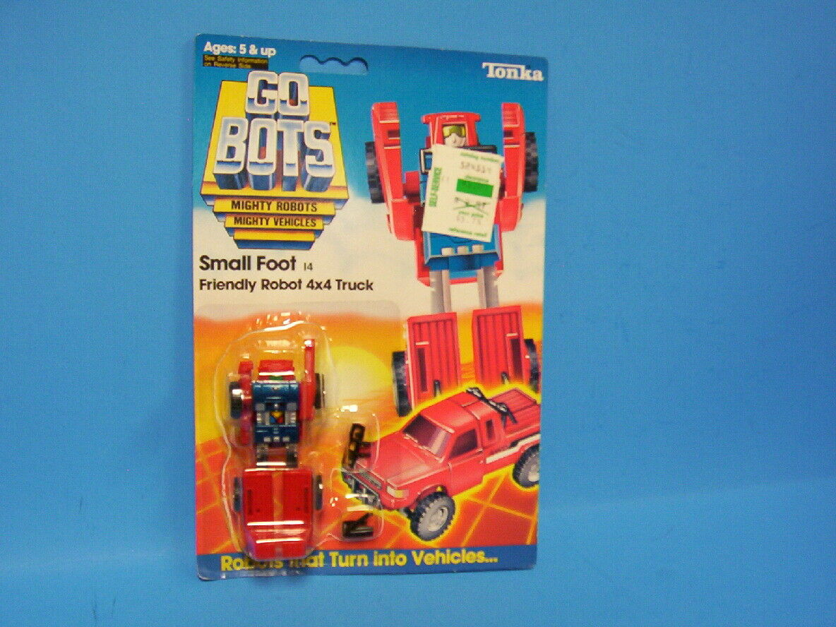 Vintage 80's 1984 Tonka GOBOTS  Small Foot  14 Friendly Robot 4x4 Truck Sealed
