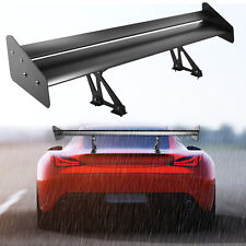 Vevor 52in Gt Rear Trunk Double Deck Racing Spoiler Double Deck Aluminum Wing Fits Saturn Aura