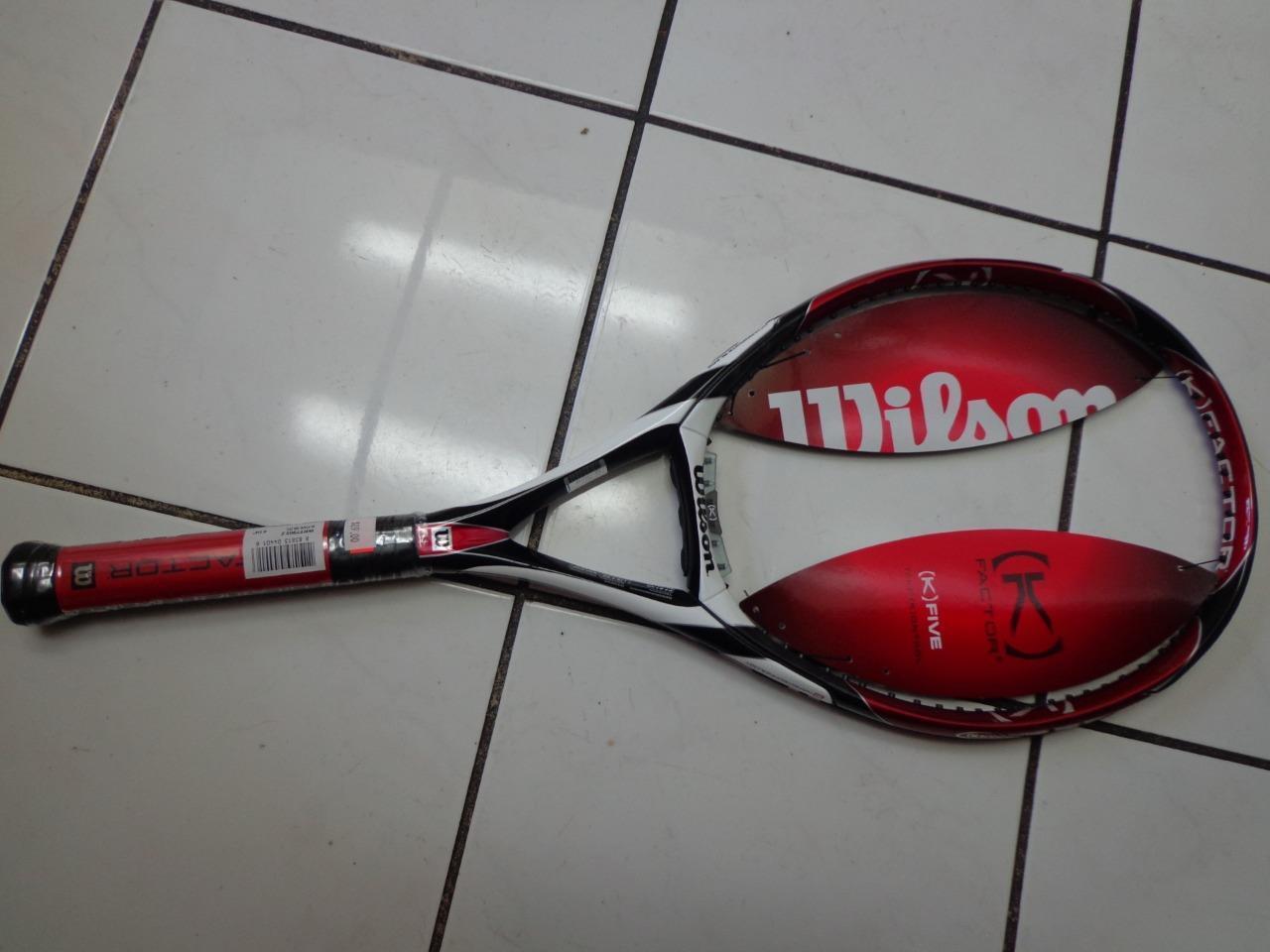 Nouveau Wilson K Factor K5 98 Head 4 3 8 grip raquette de tennis