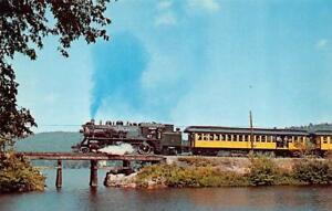 BRADFORD-NH-New-Hampshire-MONADNOCK-STEAMTOWN-amp-NORTHERN-RAILROAD-Todd-039-s-Pond