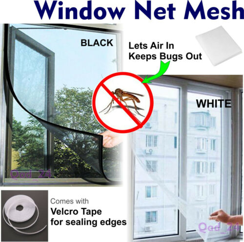 1-10 Pcs Window Screen Mesh Insect Net Fly Mosquito Bug Protection Door Netting