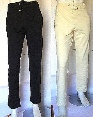 Pantaloni Sport Uomo Ragazzo Tuta Nadia Fassi B204 Nero Bianco Tg Xxs Xs S L I Prodotti Sono Venduti Senza Limitazioni