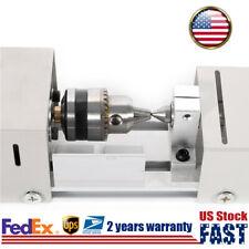 12 Mini Lathe Beads Polisher Woodworking Machine Diy Polishing Tool 100w Us