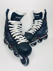 Tour-Nano-Code-Technology-FB-225-Inline-Hockey-Rollerblades-Skates-Size-11-Mens