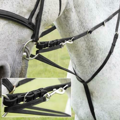 Reins Black//Havana Leather Market Harborough Sizes Pony to Full *SALE*