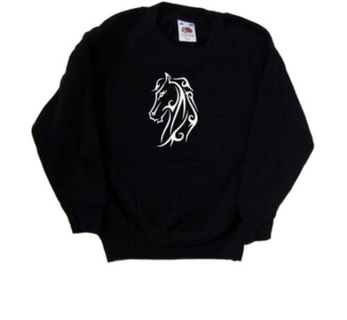 Beautiful Horse Kids Sweatshirt