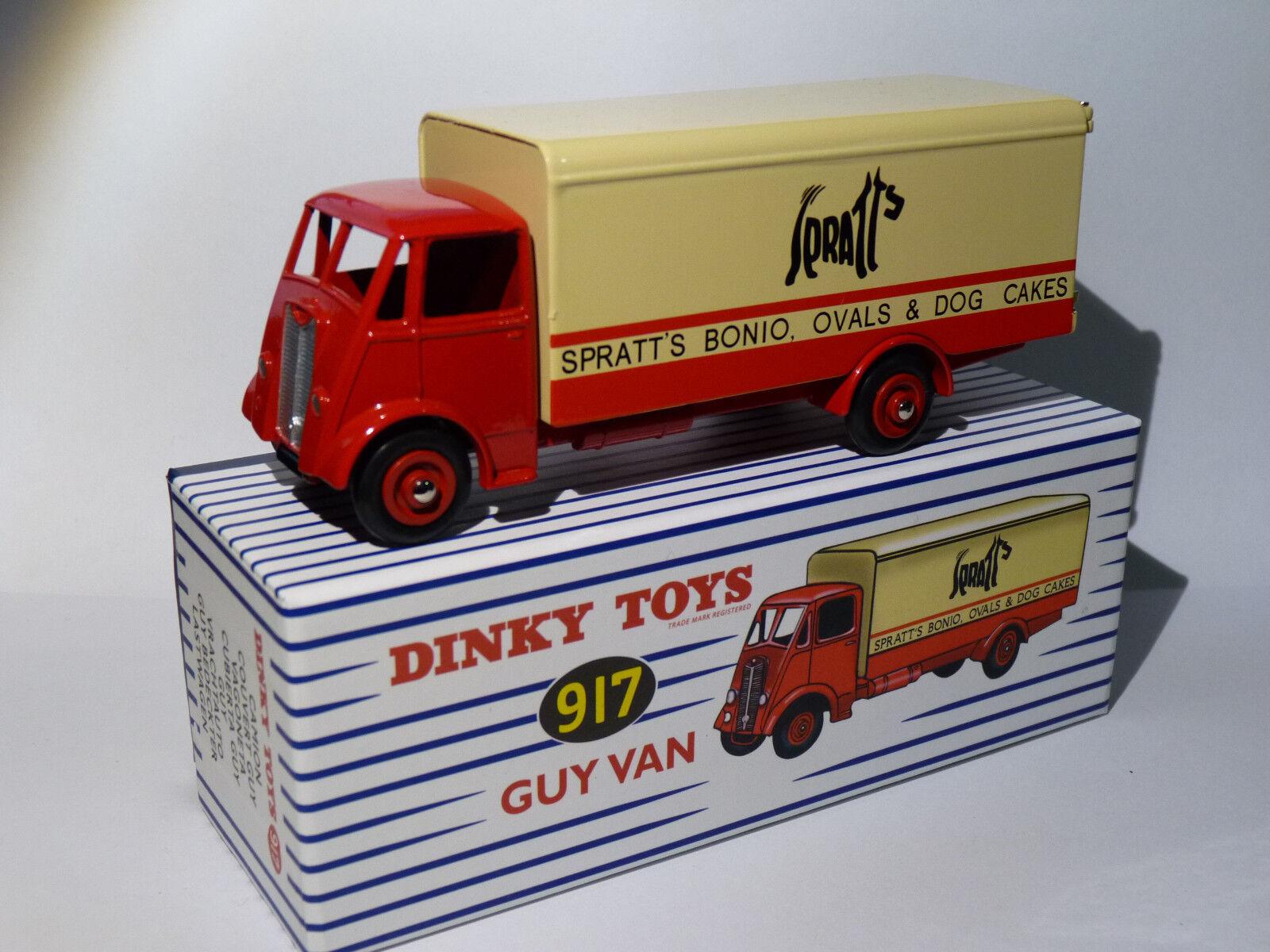 Camión Guy Van Transporte de SPRATT - Ref 917 514 Dinky súperJuguetes Atlas