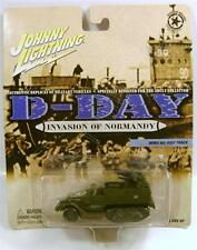 WWII M2 HALF TRACK WORLD WAR II D-DAY NORMANDY JOHNNY JL DIECAST DIECAST RARE