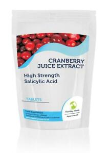 Cranberry-Juice-5000mg-Extract-Salicylic-Acid-x180-Tablets-Letter-Post-Box-Size