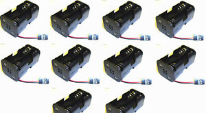 C1202-5-Receiver-Battery-Pack-Case-Box-4-x-AA-Nitro-RC-Compatible-JR-3-Pin-x-10