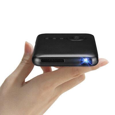 Home Theater Projector Pro DLP, Smart Mini Pico Portable Video Projector