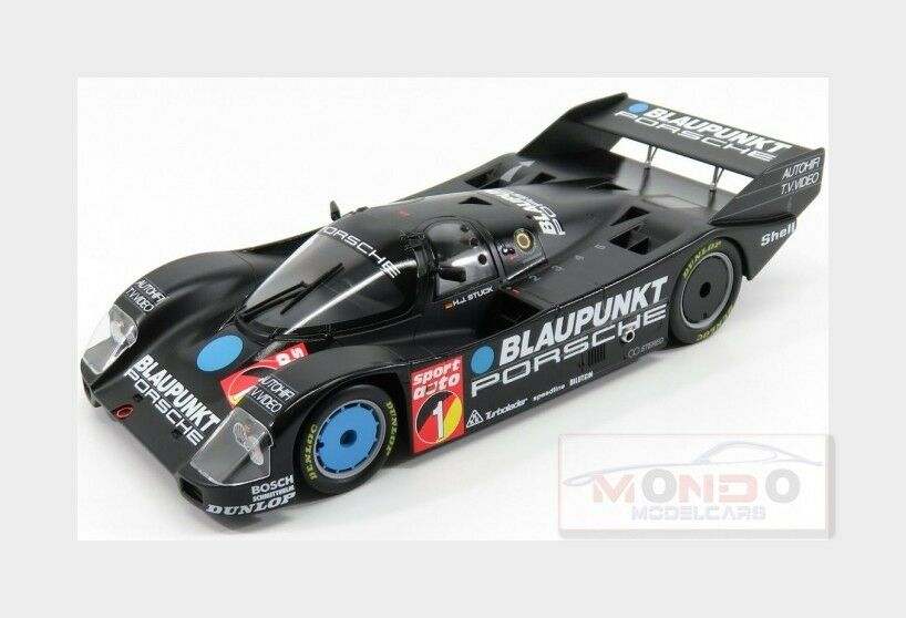 Porsche 962C bluepunkt Winner Adac Nurburgring 1986 NOREV 1 18 NV187411 Model