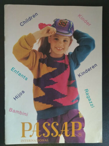 PASSAP PFAFF tricot machine spécial Cahiers Premier modèles//Enfants//Bébé