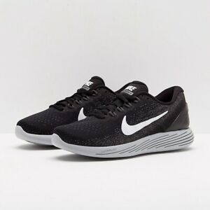 7e402f78d52d Nike Lunarglide 9 Black White-Dark Grey 904716-001 Women s SZ 5.5 ...