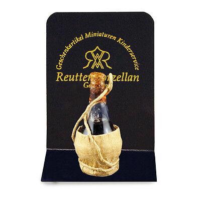 1.960//0 Reutter Porzellan Bottle of Chianti Bottle Dollhouse 1:12 Art