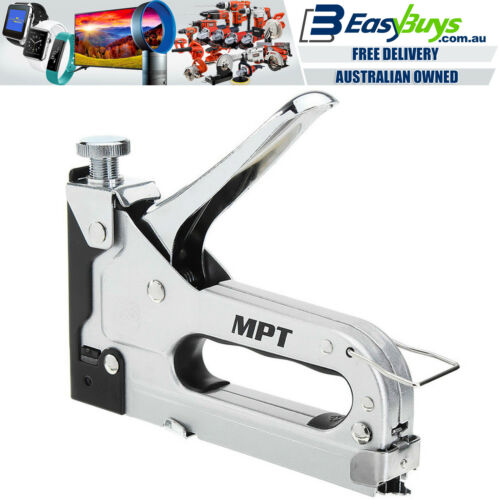 MPT Staple Gun Adjustable All Metal Trade Quality Hand Stapler 4mm to 14mm JT21