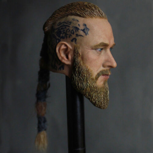 "Custom 1:6 Scale For Hot Toys vikings Head Sculpt 12/"" Standard Male Figure Body"