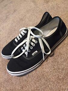 100% Original Vans Classic Skate Canvas Low Sneaker Shoe Black Women ... 3ade2210a