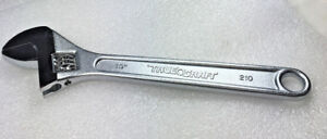 True-Craft-1-PC-10-034-inch-Crescent-Type-Adjustable-Wrench-Japan-Chrome-Vanadium