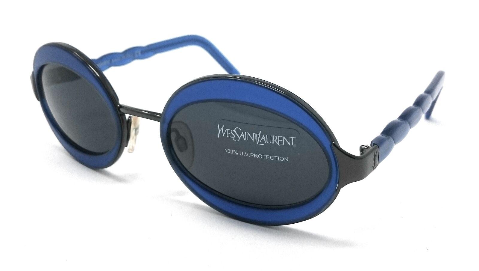 Sunglasses women Yves Saint Laurent YSL 6058 y360 Vintage Blue, Gun-show original title