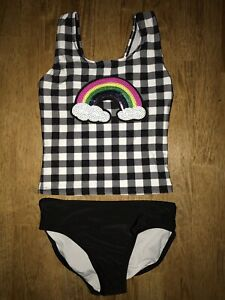df83fbb4a Girls swimwear 2 piece bathing suit size 7/8 CAT and JACK TARGET ...