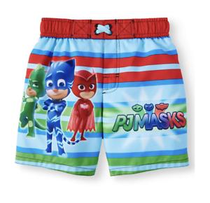 PJ Masks Swim Trunks Boys New With Tags 4T UPF 50+