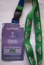 Orig.Ticket   Ch.League 2015/16  FINALE  REAL MADRID - ATLETICO MADRID / am Band