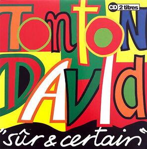 Tonton-David-CD-Single-Sur-amp-Certain-France-EX-M