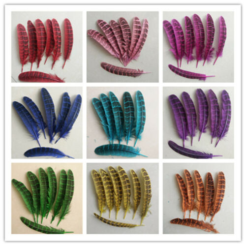10-15 cm free-shipping Wholesale 10-100 pcs beautiful hen feather 4-6 inches