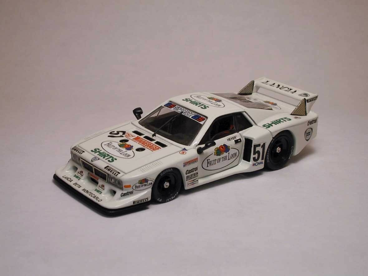 Lancia Beta Montecarlo  51 2nd Zolder 1980 H. Heier 1 43 Model BEST MODELS