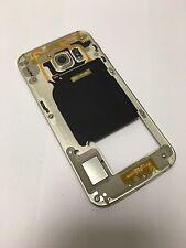 Original ! Samsung Galaxy S6 Edge G925F Mittelrahmen Middle Case Gehäuse Gold